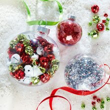 Filled Christmas Ornaments, medium