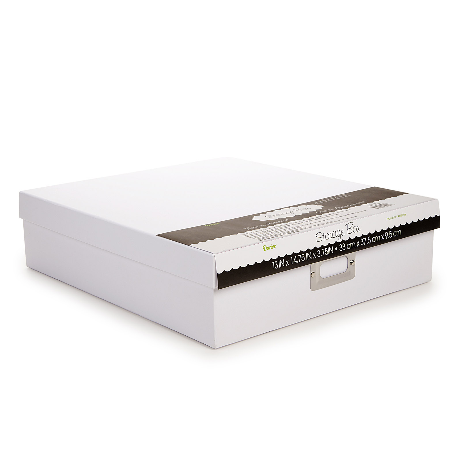 Darice Memory Storage Scrapbook Box with Lid White  sc 1 st  Michaels & Photo Boxes | Michaels Aboutintivar.Com