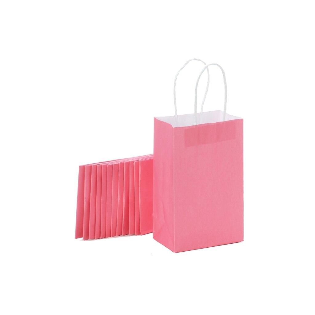 Darice® Small Paper Gift Bag Pack, Pink