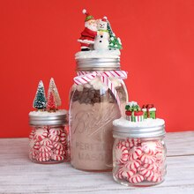 Holiday Vintage Mason Jars, medium