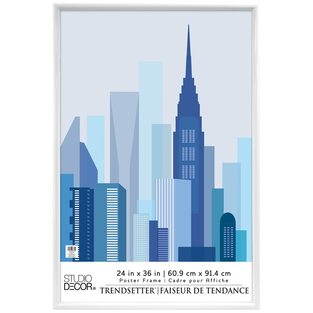 find the white trendsetter poster frame by studio dcor 24 x 36 at michaels - Michaels Frames 24x36