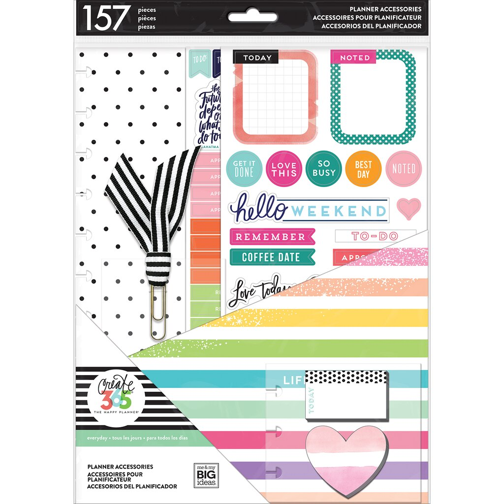 Find the create 365 the big happy planner planner for Happy planner accessories