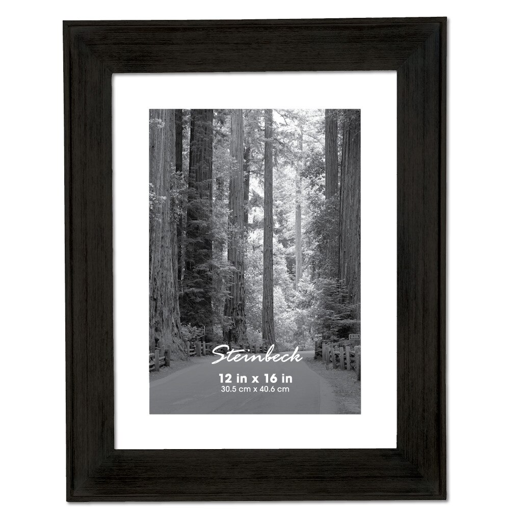 Black Steinbeck Frame by Aaron Brothers