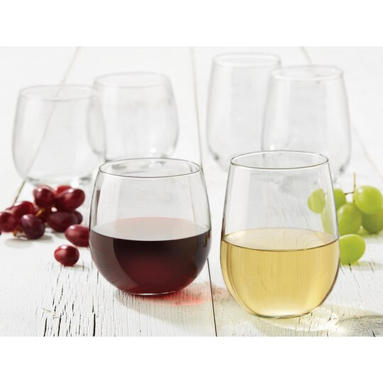 Libbey Stemless Wine Set
