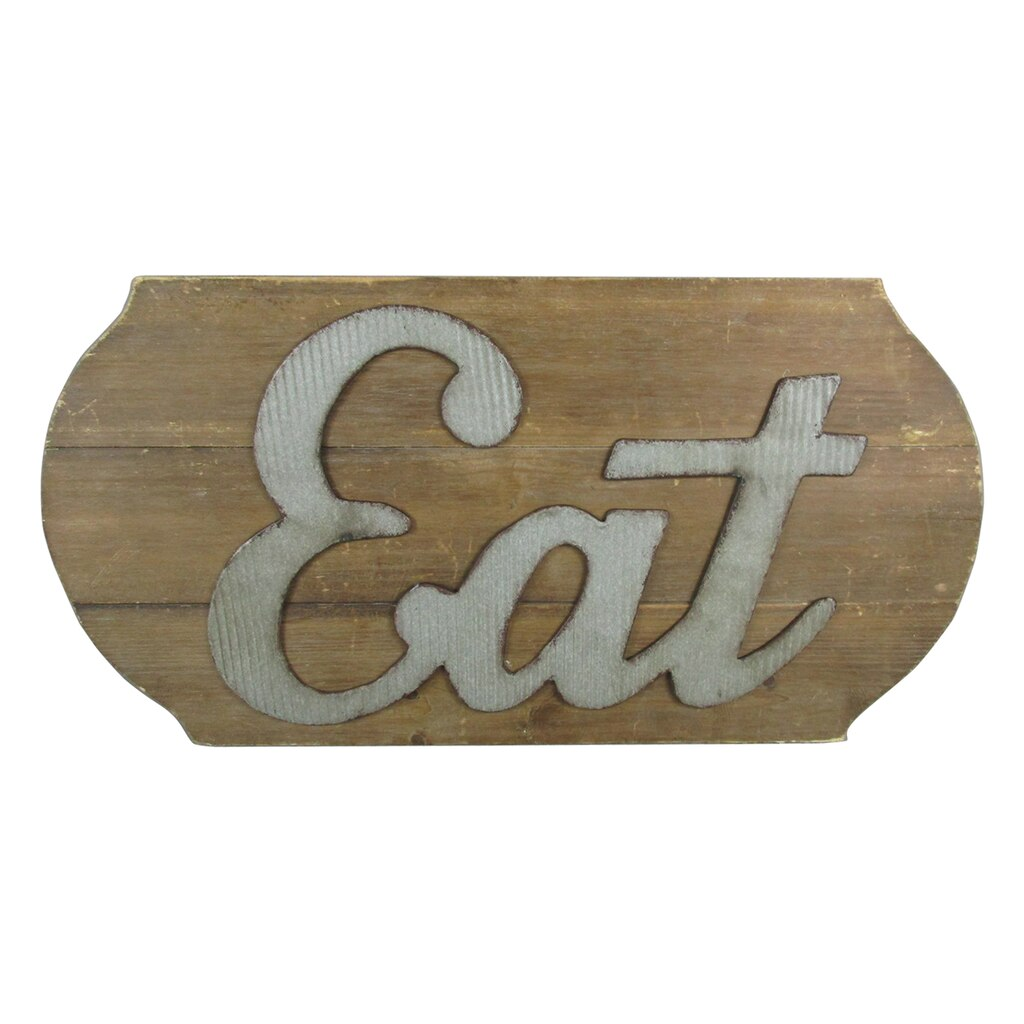 Galvanized Letters For Sale Buy The Eat Wood Sign With Galvanized Lettersashland® At Michaels