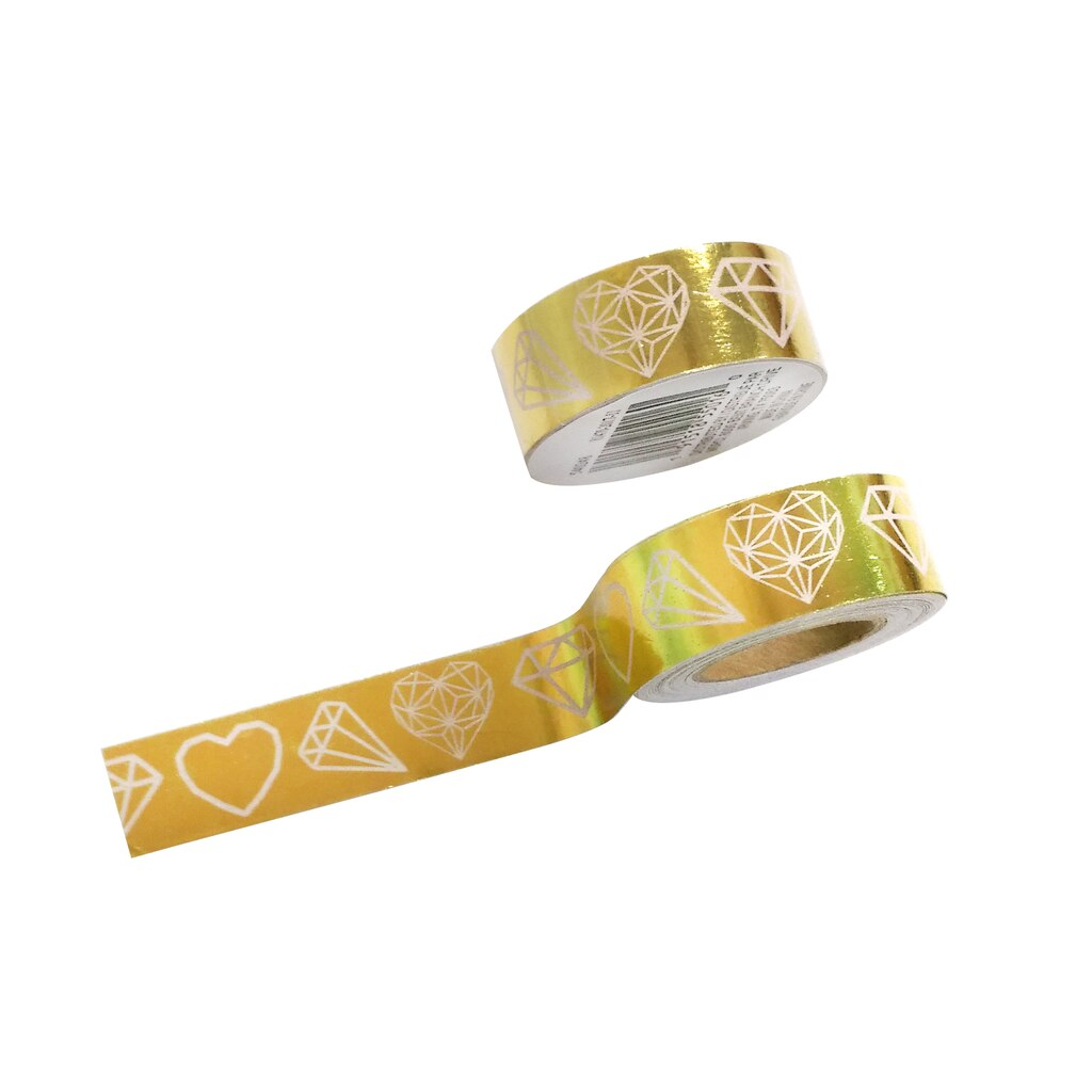 Find the Gold Foil Icons Washi Tape By Craft Smart™ at Michaels