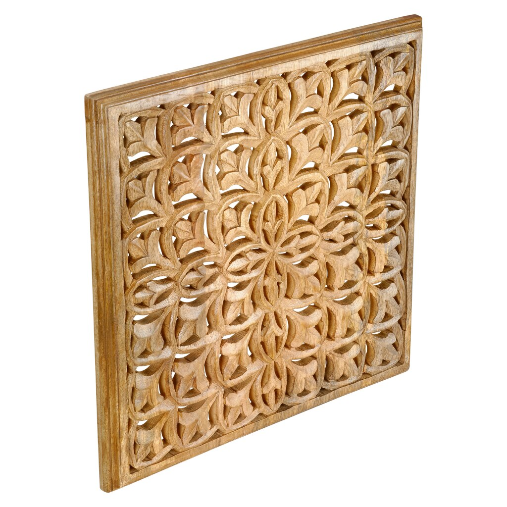 Find the Large Carved Wooden Wall Panel By Ashland® at Michaels
