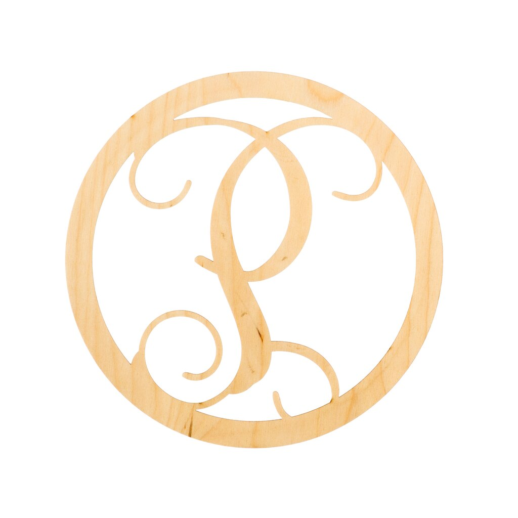 Shop for the Circle Script Monogram Letter by ArtMinds® at Michaels