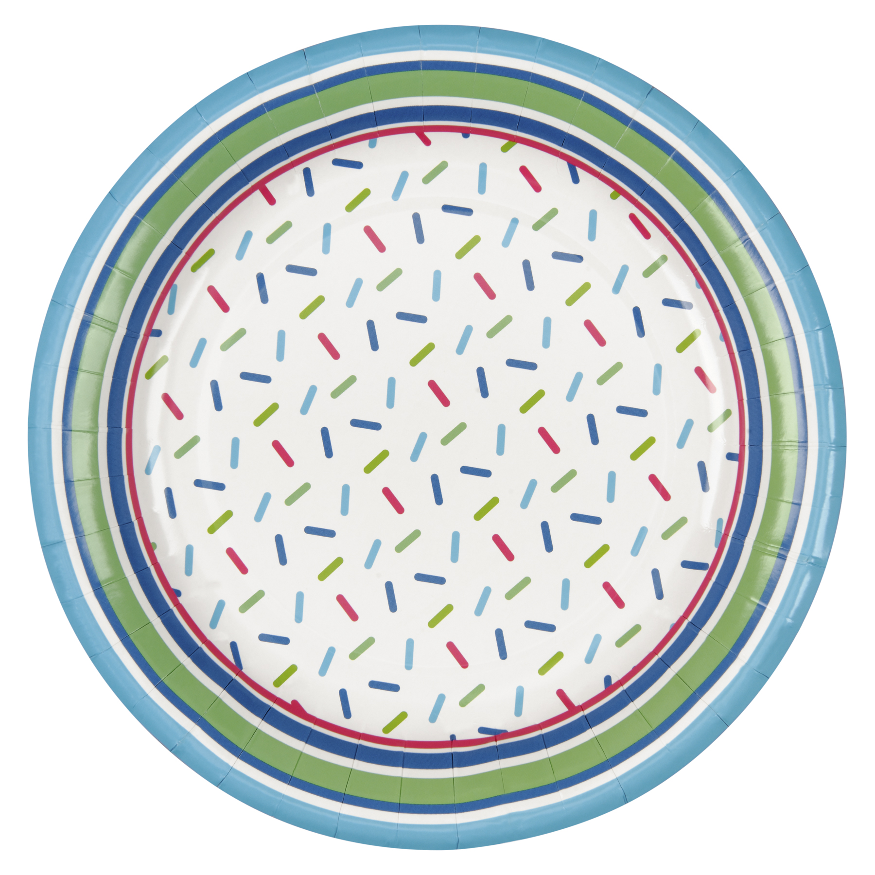 Green Confetti Round Paper Plates By Celebrate It  sc 1 st  Michaels Stores & Buy the Green Confetti Round Paper Plates By Celebrate It™ at Michaels