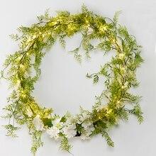 Minimalist Lighted Wreath, medium