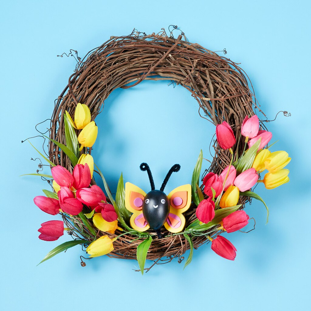 Easter to Spring Transitional Wreath