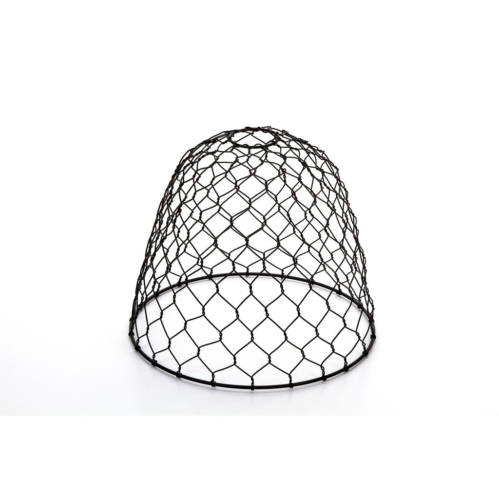 Vintage Style Chicken Wire Lamp Shade: Black Dome Pendant Shade, 10 ...