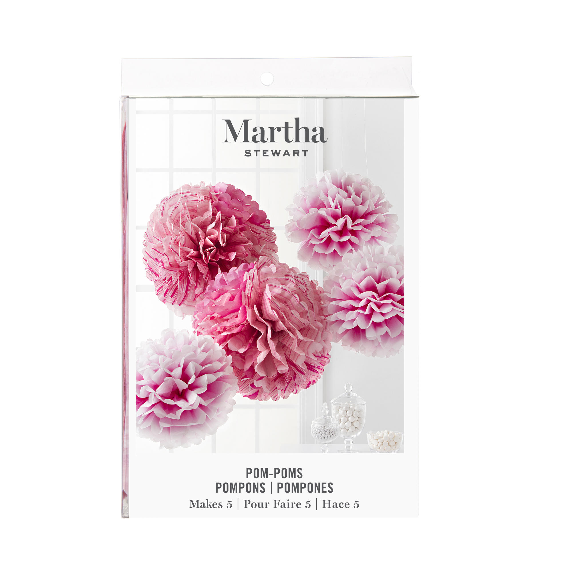 Martha Stewart Poinsettia Tissue Paper Flower Kit Flowers Healthy