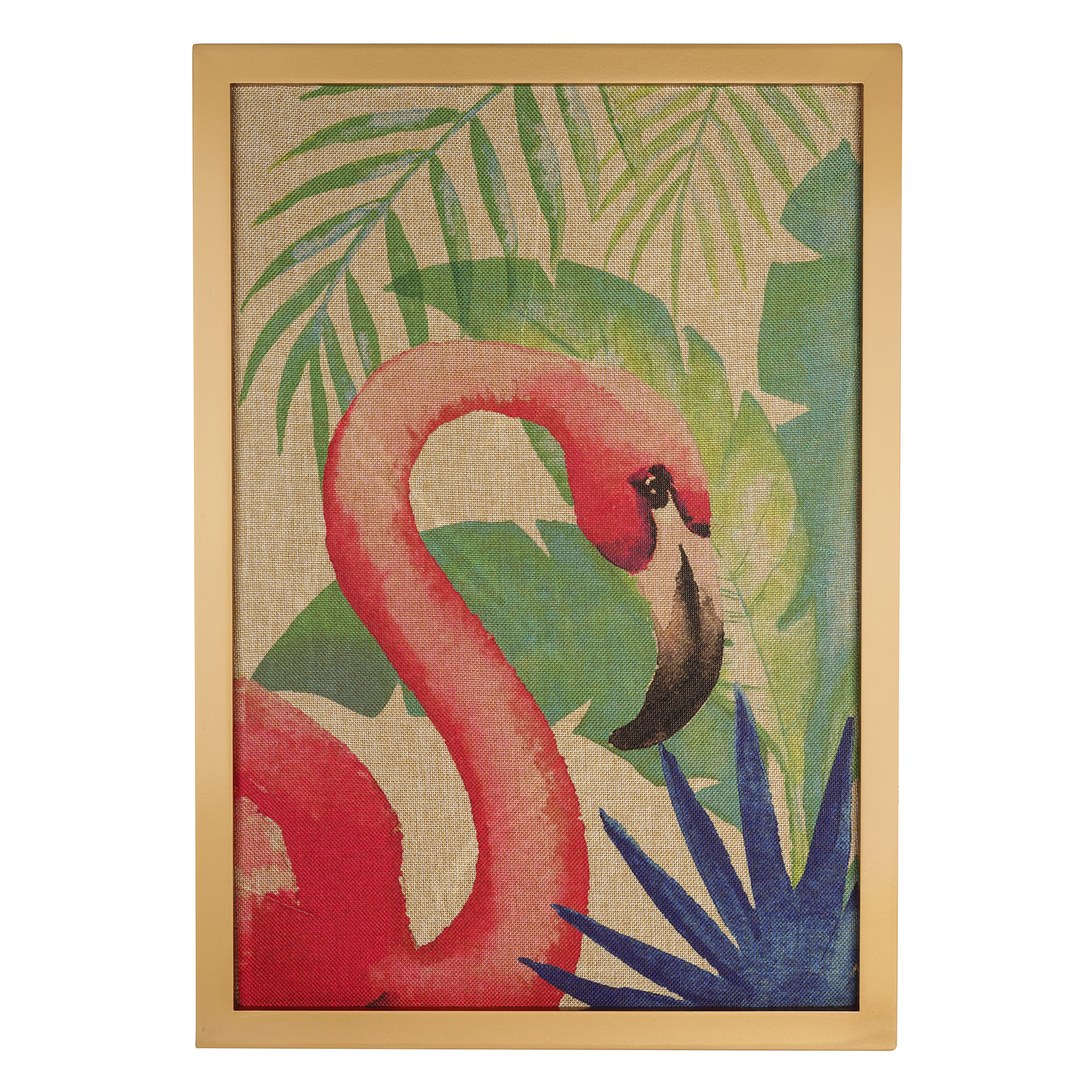 Flamingo Burlap Wall Art By Ashland