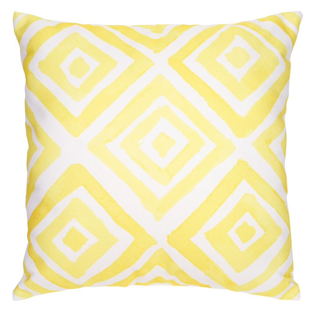 Buy the Yellow Diamond Pillow By Ashland™ at Michaels